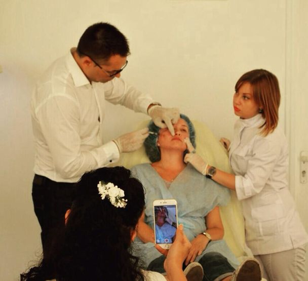 мастер-класс для косметологов
